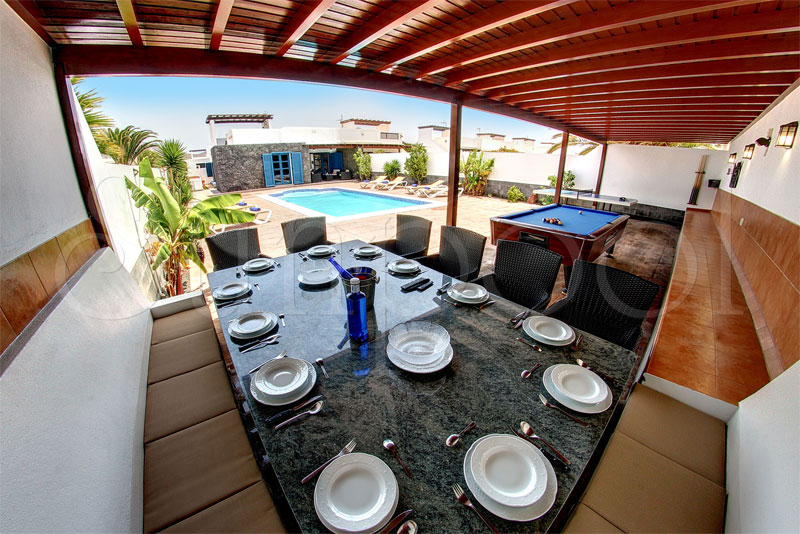 location villa lanzarote
