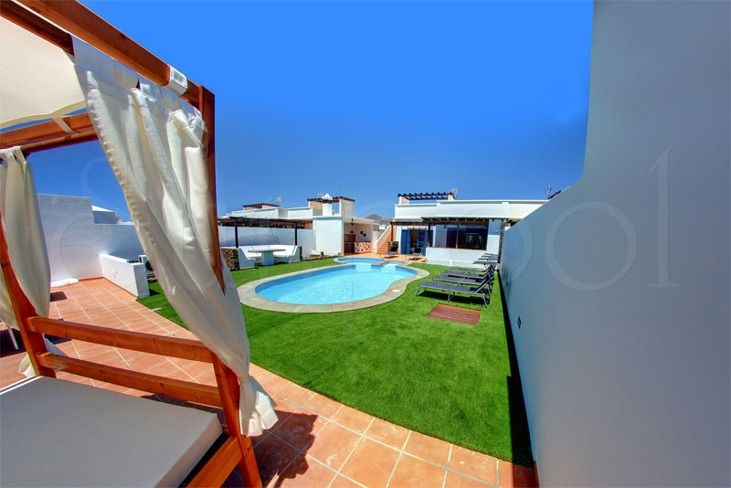 location villa canaries
